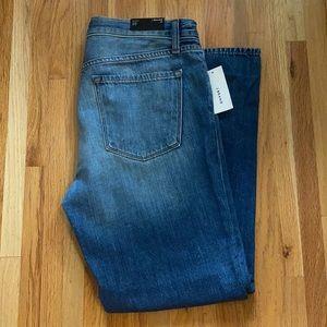 NWT J Brand Johnny Mid-Rise Boy Fit Mimic Jeans 29